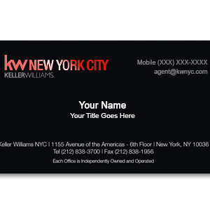 keller-williams-black-business-card-no-photo-red-foil-front