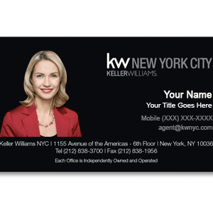 keller-williams-black-business-card-photo-front