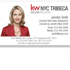 keller-williams-tribeca-office-white-photo-business-cards-front