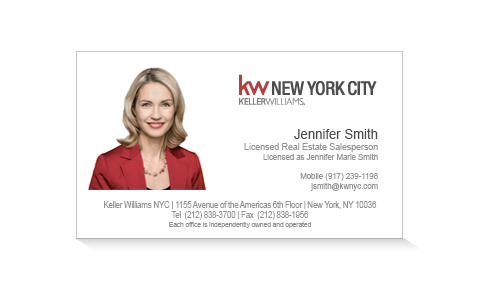 keller-williams-white-business-card-photo-front