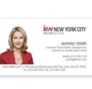 keller-williams-white-foil-business-card-photo-front