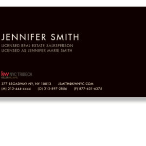keller-williams-tribeca-office-black-business-cards-front